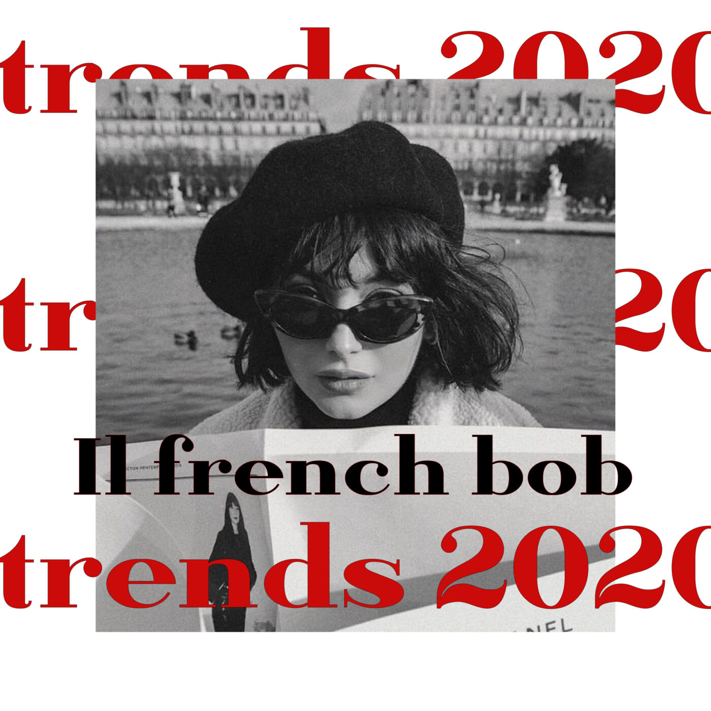 Post French bob